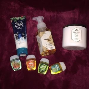 Bath & Body Works Body Care and Candle